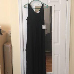 NWT maternity maxi dress